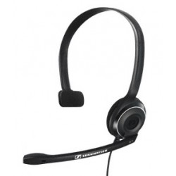 Sennheiser - PC 7 USB USB Monoaural Diadema Negro auricular con micrófono
