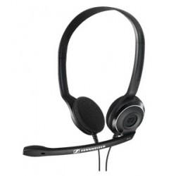 Sennheiser - PC 8 USB Binaural Diadema Negro auricular con micrófono
