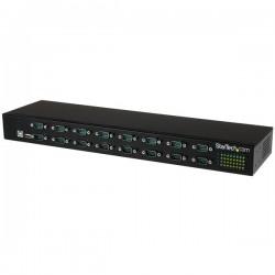 StarTech.com - Adaptador USB a Concentrador de 16 Puertos Serie