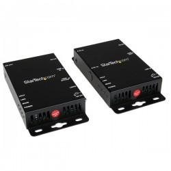 StarTech.com - Juego Kit Extensor Vídeo y Audio HDMI por Cat5 RJ45 Control Puerto Serie e IR - 100m