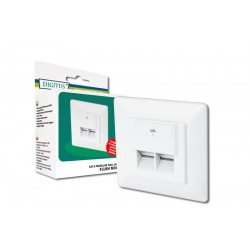 Digitus - Modular Wall Outlet CAT6 RJ-45 conector