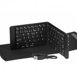 silver ht - 111933340199 Bluetooth QWERTY Español Negro teclado para móvil