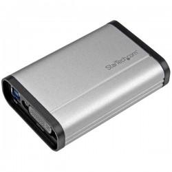 StarTech.com - Capturadora de Vídeo USB 3.0 a DVI - 1080p 60fps - Aluminio