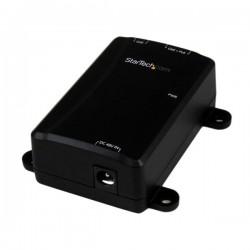 StarTech.com - Inyector PoE+ Midspan de 1 Puerto Gigabit - 802.3at y 802.3af