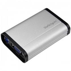 StarTech.com - Capturadora de Vídeo USB 3.0 a VGA - 1080p 60fps - Aluminio dispositivo para capturar video