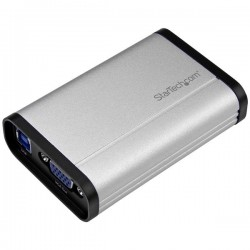 StarTech.com - Capturadora de Vídeo USB 3.0 a VGA - 1080p 60fps - Aluminio