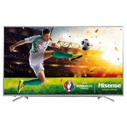 "Hisense - H55M7000 55"" 4K Ultra HD Smart TV Wifi Acero inoxidable LED TV"