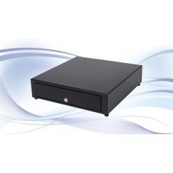 International Cash Drawer - 3S-460 Acero inoxidable, Acero Negro