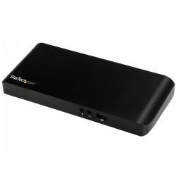 StarTech.com - Dock USB-C de Dos Monitores con MST- 4x Puertos USB 3.0