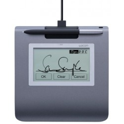 Wacom - STU-430 Signature pad tableta digitalizadora 2540 líneas por pulgada 96 x 60 mm USB Negro, Gris