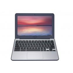 "ASUS - Chromebook C202SA-GJ0023 1.6GHz N3060 11.6"" 1366 x 768Pixeles Marina, Plata Chromebook ordenador portatil"