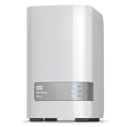 Western Digital - My Cloud Mirror 16TB Ethernet Blanco dispositivo de almacenamiento personal en la nube