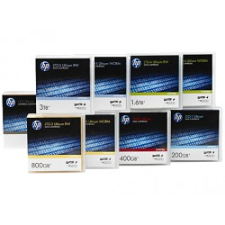 Hewlett Packard Enterprise - LTO-7 Ultrium Non Custom Labeled Data Cartridge 20 Pack 1,27 cm