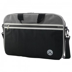 "e-Vitta - Retro bag 12.5"" Bandolera Gris, Color blanco"