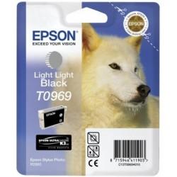 Epson - Husky Cartucho T0969 gris claro