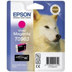 Epson - Husky Cartucho T0963 magenta vivo