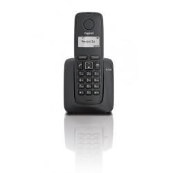 Gigaset - A116 Teléfono DECT Negro Identificador de llamadas