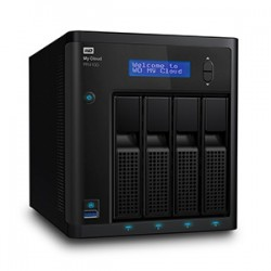 Western Digital - My Cloud PR4100 Ethernet Desktop Black NAS - 21309053