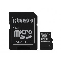 Kingston Technology - 8GB microSDHC 8GB MicroSD Flash memoria flash