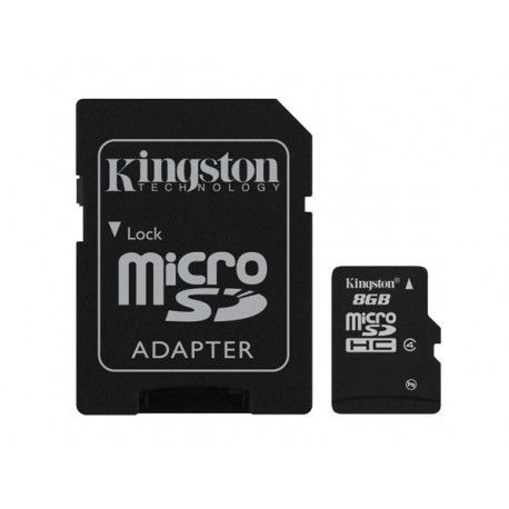 Kingston Technology - 8GB microSDHC - 11146825
