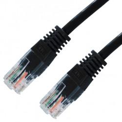 Nanocable - 10.20.0400-BK cable de red 0,5 m Cat6e U/UTP (UTP) Negro