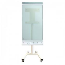 "Newstar - NS-SKM300WHITE 42"" Portable flat panel floor stand Blanco soporte de pie para pantalla plana"