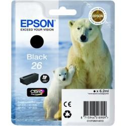 Epson - Cartucho 26 negro (etiqueta RF)