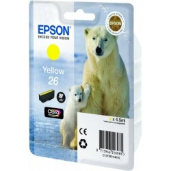 Epson - Cartucho 26 amarillo (etiqueta RF) - 22011208