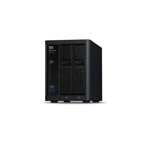 Western Digital - My Cloud PR2100 NAS Escritorio Ethernet Negro - 21414567