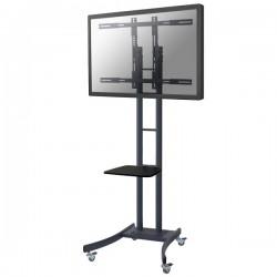 "Newstar - PLASMA-M2000E 85"" Portable flat panel floor stand Negro soporte de pie para pantalla plana"