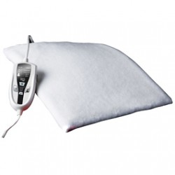 Daga - N4 Manta eléctrica 120W Blanco manta eléctrica y almohadilla