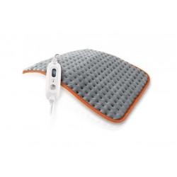 Daga - FlexyHeat COLORS Calentador de cama eléctrico 100W Microfibra Gris, Naranja