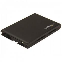 StarTech.com - Lector/Escritor de Tarjetas de Memoria SD con 2 Ranuras - USB 3.0 con Puerto USB-C - SD 4.0, UHS II