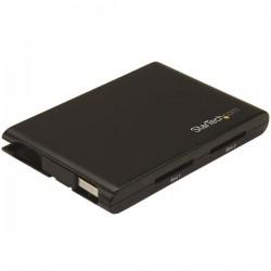 StarTech.com - Lector Grabador USB 3.0 de Tarjetas de Memoria Flash SD con Dos Ranuras - SD 4.0, UHS II