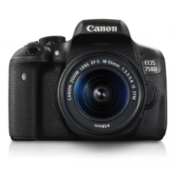 Canon - EOS 750D + EF-S18-55mm IS STM Juego de cámara SLR 24.2MP CMOS 6000 x 4000Pixeles Negro