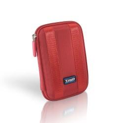 TooQ - TQBC-E2502 funda para disco duro externo Rojo