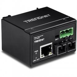 Trendnet - TI-F10S30 convertidor de medio 200 Mbit/s 1310 nm Monomodo Negro