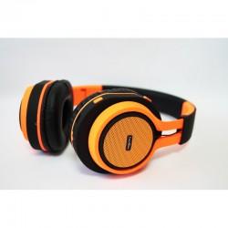 CoolBox - CoolHead Diadema Binaural Alámbrico Naranja auriculares para móvil