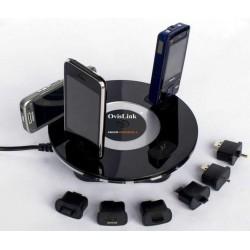 OvisLink - ARGON 6U Interior Negro cargador de dispositivo móvil