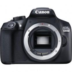 Canon - EOS 1300D + 18-55IS Juego de cámara SLR 18MP CMOS 5184 x 3456Pixeles Negro