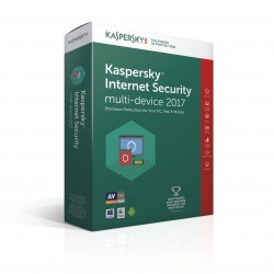 Kaspersky Lab - Internet Security Multi-Device 2017 Full license 2usuario(s) 1año(s) Español