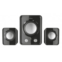 Trust - ZIVA COMPACT 2.1 Speaker set conjunto de altavoces 12 W Negro