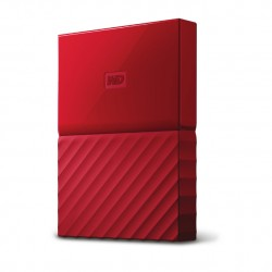 Western Digital - My Passport 3000GB Rojo disco duro externo