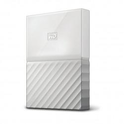 Western Digital - My Passport 3000GB Blanco disco duro externo
