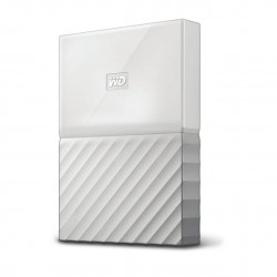 Western Digital - My Passport disco duro externo 3000 GB Blanco