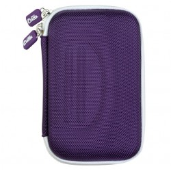 e-Vitta - Cover Shock Funda Nylon Púrpura, Color blanco