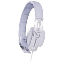 Hiditec - Wave Diadema Binaural Alámbrico Blanco auriculares para móvil
