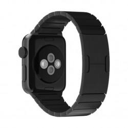 Apple - MJ5H2ZM/A accesorio de relojes inteligentes Grupo de rock Negro Acero inoxidable