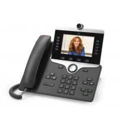 Cisco - IP PHONE 8845 teléfono IP Carbón vegetal Terminal con conexión por cable LCD