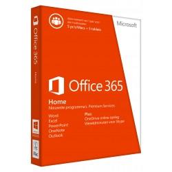 Microsoft - Office 365 Home, 5U 1licencia(s) 1año(s) Español